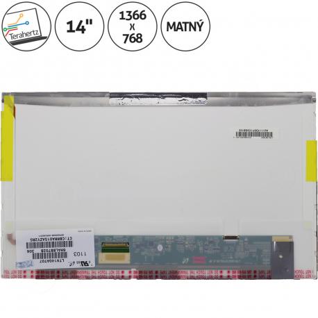 Asus B43 Displej pro notebook - 1366 x 768 HD 14 + doprava zdarma + zprostředkování servisu v ČR