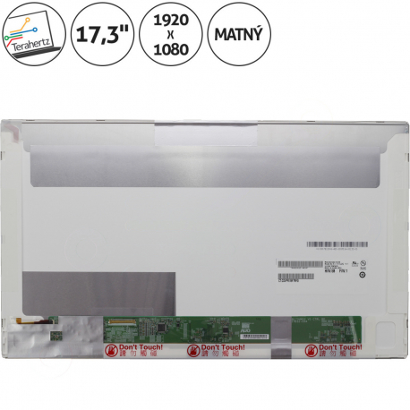 Asus N73SV Displej pro notebook - 1920 x 1080 Full HD 17,3 + doprava zdarma + zprostředkování servisu v ČR