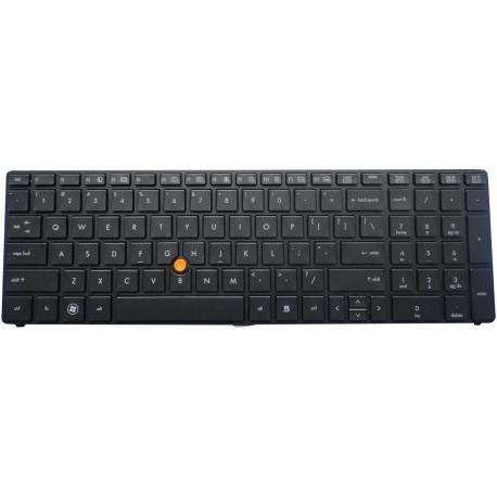 HP EliteBook 8560w Klávesnice pro notebook - americká - US + zprostředkování servisu v ČR