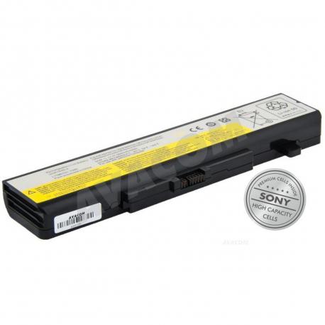 Lenovo G580 Baterie pro notebook - 5800mAh 6 článků + doprava zdarma + zprostředkování servisu v ČR