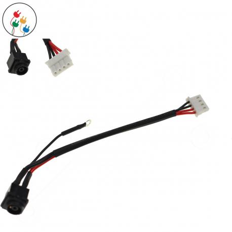 Sony Vaio VPC-EH2J1E Napájecí konektor - dc jack pro notebook - délka 4 cm 4 piny s připojovacím kabelem + zprostředkování servisu v ČR