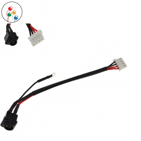 Sony Vaio VPC-EH2S9E Napájecí konektor - dc jack pro notebook - délka 4 cm 4 piny s připojovacím kabelem + zprostředkování servisu v ČR