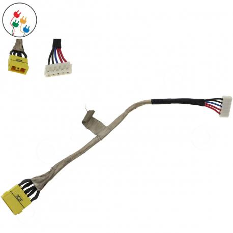 Lenovo IdeaPad Z710 Napájecí konektor - dc jack pro notebook - délka 17 cm s připojovacím kabelem + zprostředkování servisu v ČR