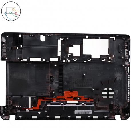 60BRG02004 Spodní vana pro notebook - černá napájení, LAN, VGA, HDMI, USB, mikrofón a sluchátka 2 x USB, DVD a zámeček + doprava zdarma + zprostředkování servisu v ČR