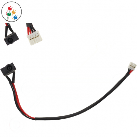 Samsung NP-Q330-JS03 Napájecí konektor - dc jack pro notebook - 4 piny s připojovacím kabelem plast + zprostředkování servisu v ČR