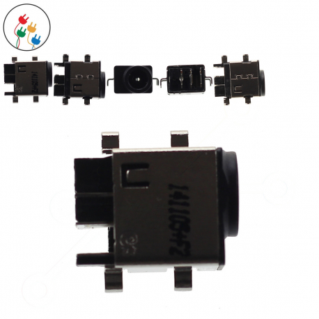 Samsung NP-RC520-S08xx Napájecí konektor pro notebook - bez připojovacího kabelu plast + zprostředkování servisu v ČR