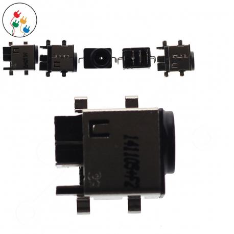 Samsung NP-RC520-S0Fxx Napájecí konektor - dc jack pro notebook - bez připojovacího kabelu plast + zprostředkování servisu v ČR