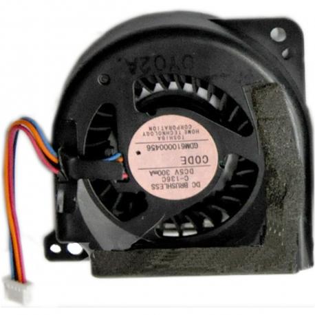 Toshiba Portege R700 Ventilátor pro notebook - 4 piny metalic / plastic 4 díry na šroubky + zprostředkování servisu v ČR
