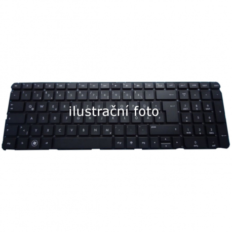 HP ENVY dv7-7201eg Klávesnice pro notebook - americká - US + zprostředkování servisu v ČR