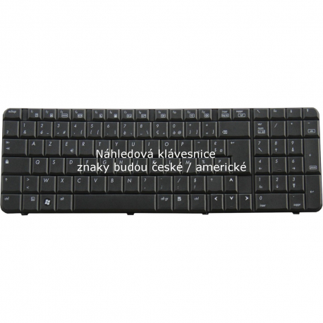 HP Compaq 6820s Klávesnice pro notebook - anglická - UK + zprostředkování servisu v ČR