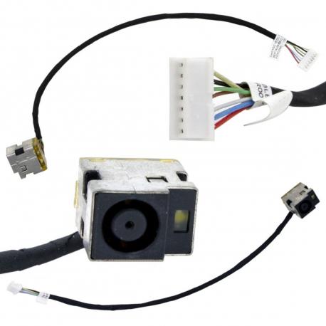 HP Compaq Presario G62 Napájecí konektor pro notebook - 7 pinů s připojovacím kabelem plast + zprostředkování servisu v ČR