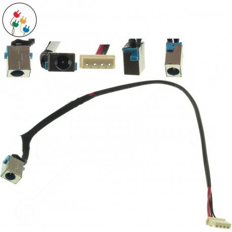 Acer Aspire 5745G Napájecí konektor - dc jack pro notebook - 4 piny s připojovacím kabelem kov + zprostředkování servisu v ČR