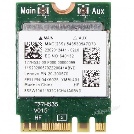 04X6025 Wifi modul pro notebook + zprostředkování servisu v ČR