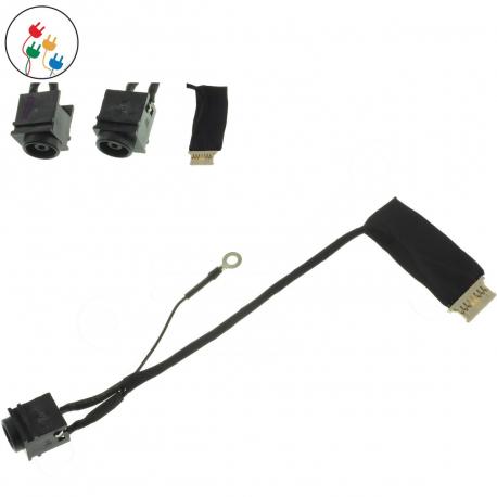 Sony Vaio VPC-YB2M1E/G Napájecí konektor - dc jack pro notebook - délka 7 cm 8 pinů ( 6 kontaktů ) s připojovacím kabelem + zprostředkování servisu v ČR