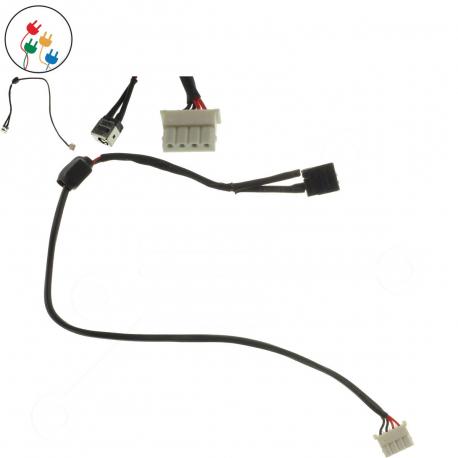 Toshiba Satellite L755D Napájecí konektor pro notebook - 4 piny s připojovacím kabelem kov + zprostředkování servisu v ČR