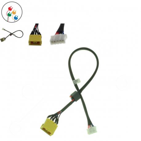 Lenovo IdeaPad Z560A Napájecí konektor - dc jack pro notebook - 5 pinů s připojovacím kabelem plast + zprostředkování servisu v ČR