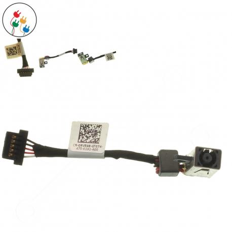 Dell XPS 12-9Q23 Napájecí konektor pro notebook - délka 6 cm 5 pinů s připojovacím kabelem + zprostředkování servisu v ČR