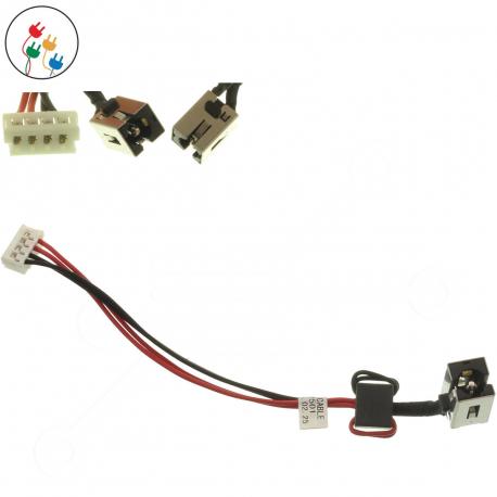 Toshiba Satellite L50-A-111 Napájecí konektor pro notebook - 4 piny s připojovacím kabelem plast + zprostředkování servisu v ČR