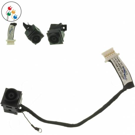 Sony Vaio VPC-YB2M1E/P Napájecí konektor - dc jack pro notebook - délka 1,5 cm 6 pinů s připojovacím kabelem + zprostředkování servisu v ČR