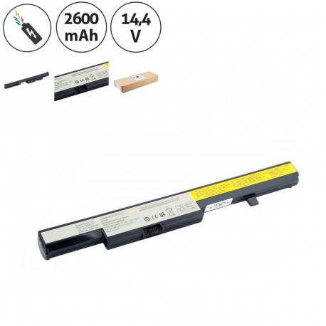 Lenovo B50-70 Series Erazer Baterie pro notebook - 2600mAh 4 články + doprava zdarma + zprostředkování servisu v ČR