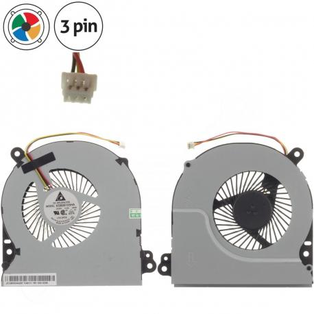 Asus R700VJ Ventilátor pro notebook - 3 piny kov 4 díry na šroubky + zprostředkování servisu v ČR
