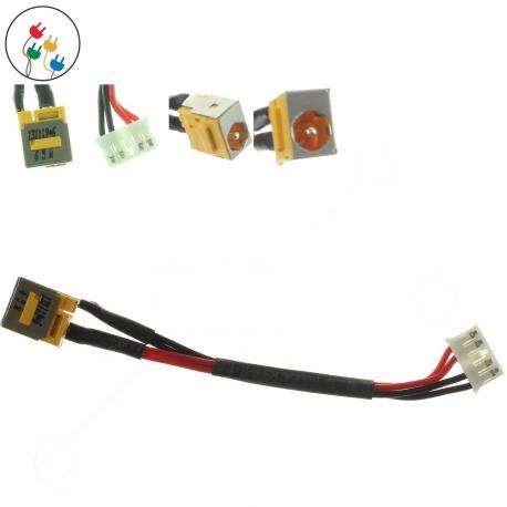 Acer TravelMate 5730-6953 Napájecí konektor - dc jack pro notebook - s připojovacím kabelem kov + zprostředkování servisu v ČR