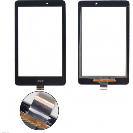 VWLT124 Dotykové sklo pro tablet - 8 černá + doprava zdarma + zprostředkování servisu v ČR