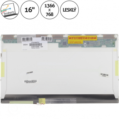 Asus M60VP Displej pro notebook - 1366 x 768 HD 16 + doprava zdarma + zprostředkování servisu v ČR
