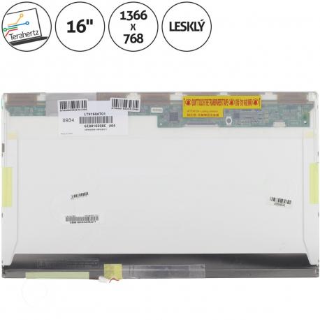 Compaq Presario CQ61 Displej pro notebook - 1366 x 768 HD 16 + doprava zdarma + zprostředkování servisu v ČR
