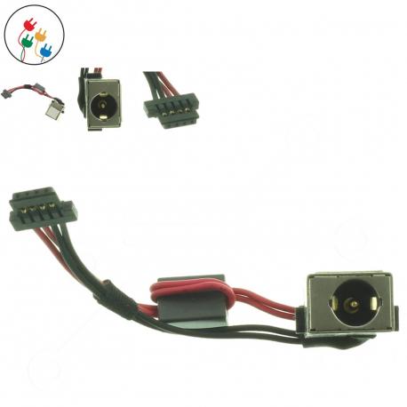 Acer Aspire One AO722 Napájecí konektor - dc jack pro notebook - 4 piny s připojovacím kabelem + zprostředkování servisu v ČR