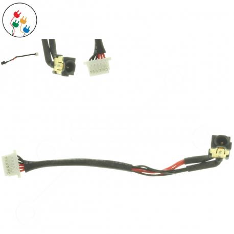 Samsung NP540U3C Napájecí konektor - dc jack pro notebook - 6 pinů s připojovacím kabelem + zprostředkování servisu v ČR