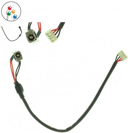 Fujitsu Siemens LIFEBOOK AH530 Napájecí konektor pro notebook - 4 piny s připojovacím kabelem + zprostředkování servisu v ČR