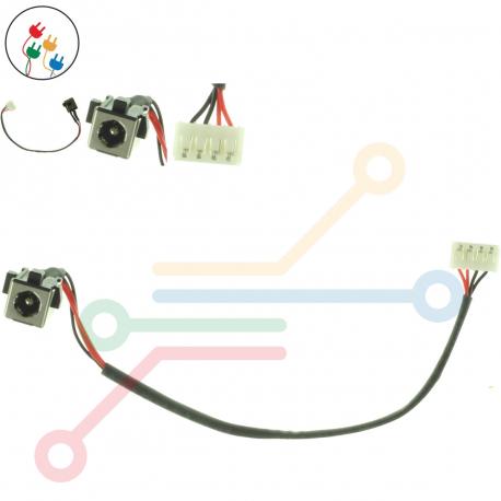 Toshiba Satellite L770 Napájecí konektor - dc jack pro notebook - s připojovacím kabelem kov + zprostředkování servisu v ČR