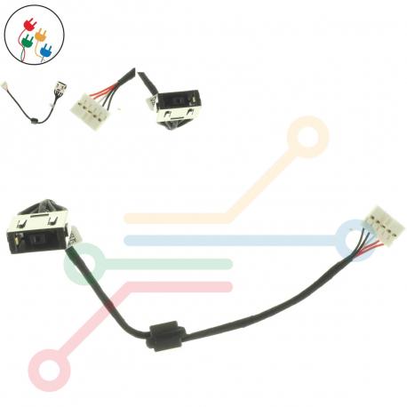 Lenovo IdeaPad G50-40 Napájecí konektor pro notebook - s připojovacím kabelem plast + zprostředkování servisu v ČR