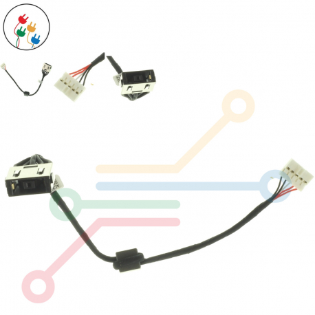 Lenovo IdeaPad G50-70A Napájecí konektor pro notebook - s připojovacím kabelem plast + zprostředkování servisu v ČR