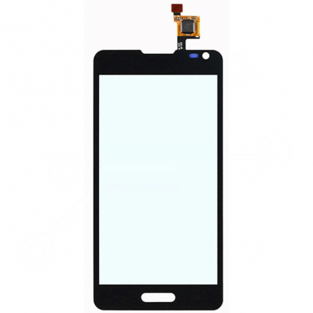 LG Optimus F6 D505 Dotykové sklo pro mobilní telefon - černá + zprostředkování servisu v ČR