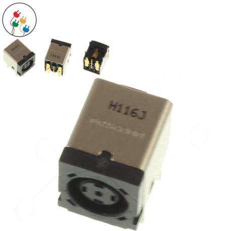 HP Compaq 6510b Napájecí konektor - dc jack pro notebook - bez připojovacího kabelu plast + zprostředkování servisu v ČR