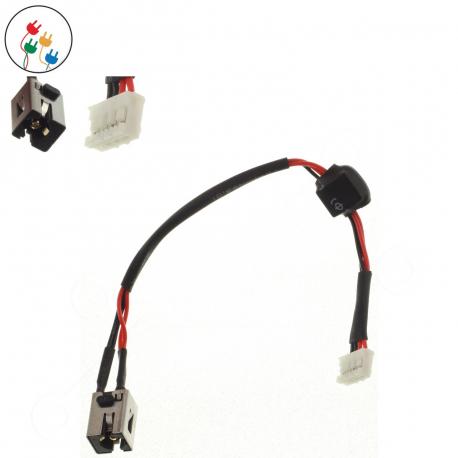 Asus K53U Napájecí konektor pro notebook - 4 piny s připojovacím kabelem + zprostředkování servisu v ČR