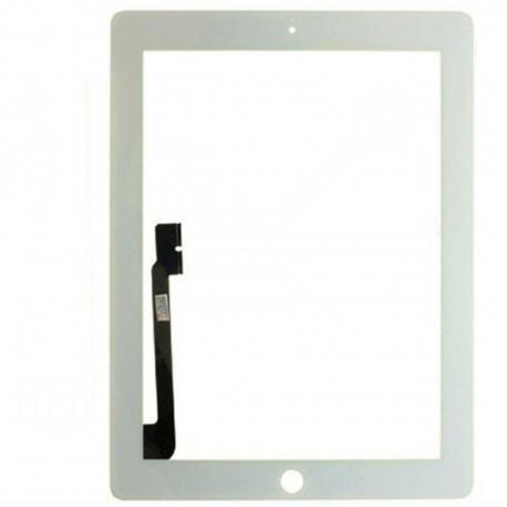 Apple iPad 3 Dotykové sklo pro tablet - 9,7 bílá + zprostředkování servisu v ČR