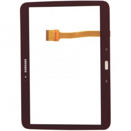 Samsung Galaxy Tab 3 GT-P5200 Dotykové sklo pro tablet - Červená + zprostředkování servisu v ČR