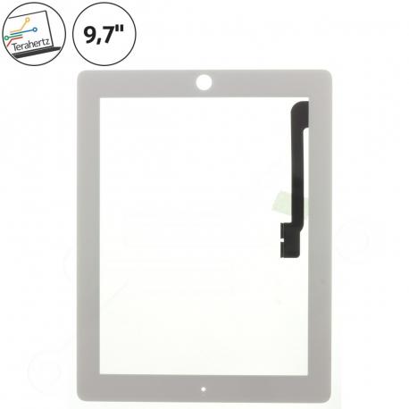 Apple iPad 4 Dotykové sklo pro tablet - 9,7 bílá + doprava zdarma + zprostředkování servisu v ČR