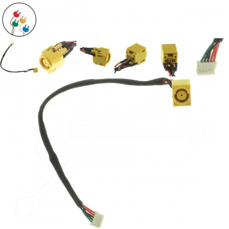 Lenovo ThinkPad Edge L412 Napájecí konektor pro notebook - 5 pinů s připojovacím kabelem + zprostředkování servisu v ČR
