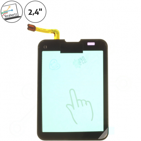 Nokia c3-01 Touch and type Dotykové sklo pro mobilní telefon - černá + zprostředkování servisu v ČR