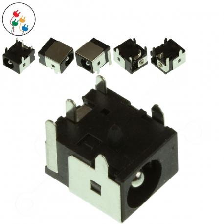 MSI MS-1651 Napájecí konektor - dc jack pro notebook - bez připojovacího kabelu plast + zprostředkování servisu v ČR