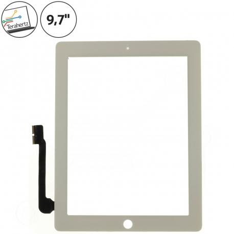 Apple iPad 4 Dotykové sklo pro tablet - 9,7 bílá + zprostředkování servisu v ČR