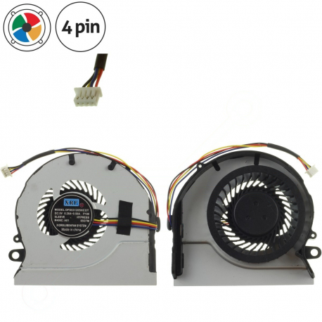 DFS470805CL0T Ventilátor pro notebook - 4 piny + zprostředkování servisu v ČR