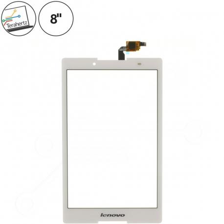 ZVLT232 Dotykové sklo pro tablet - 8 bílá černá + zprostředkování servisu v ČR