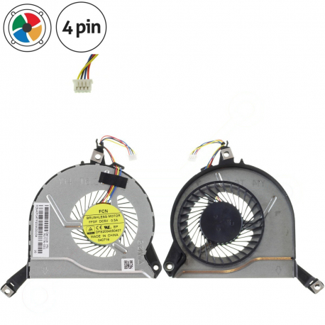 HP Pavilion 15-p020nc Ventilátor pro notebook - 4 piny + zprostředkování servisu v ČR