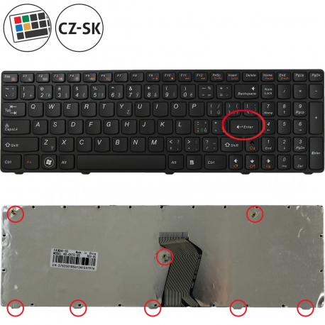 Lenovo IdeaPad B570e Klávesnice pro notebook - CZ / SK + zprostředkování servisu v ČR