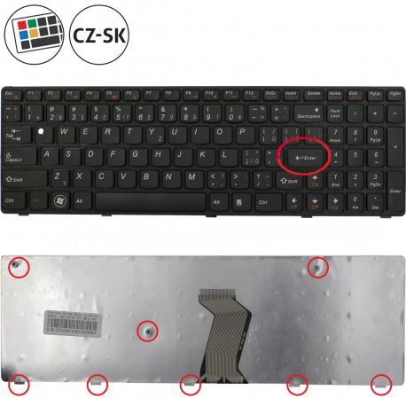 Lenovo IdeaPad G570AH Klávesnice pro notebook - CZ / SK + zprostředkování servisu v ČR